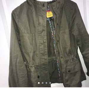 Army Green Jean Jacket